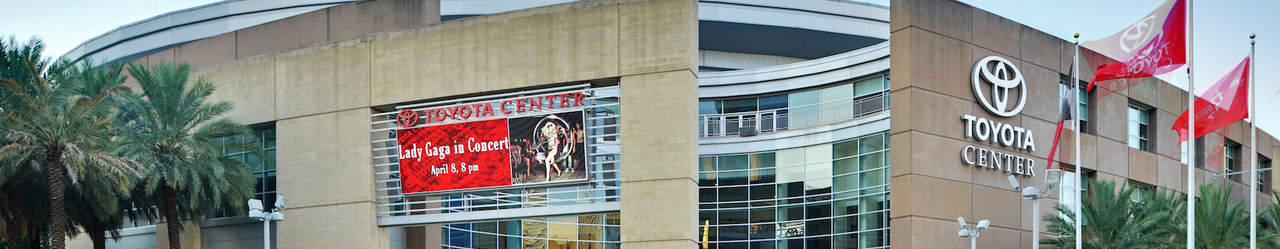 Toyota center entr