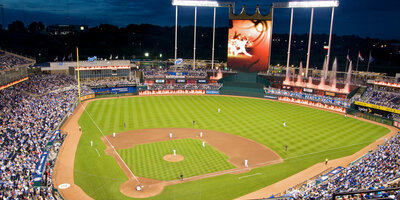 Kansas city royals ballpark kauffman stadium the k missouri wallpaper