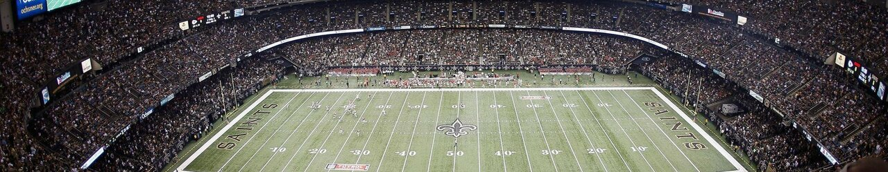 27 saints mercedes benz superdome