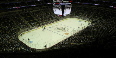 Consol energy center  indoors